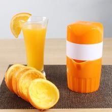 Kreative manuelle orange lemon entsafter extracteur de jus mini reise fruchtsaft tasse handpresse saftmaschine küche zubehör