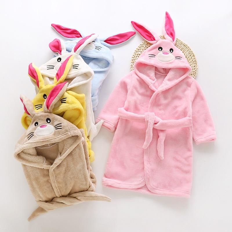 WohltäTig 2018new Mode Kinder Bademäntel Herbst Und Winter Kinder Kleidung Kind Roben