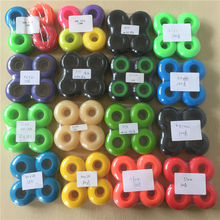 2017 Quality 50-54mm 55D 100A 101A New Blank skateboarding wheels OEM for big Brand Colorful wheels left in stock Price worth