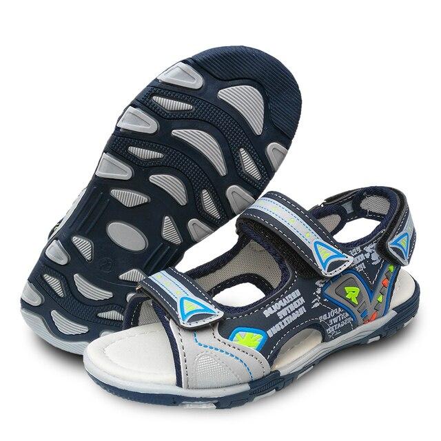 2aef7a689f8 Gratis Verzending Zomer 1 paar mode Kinderschoenen Zomer Sandalen, jongen  Schoenen Strand zachte schoenen,