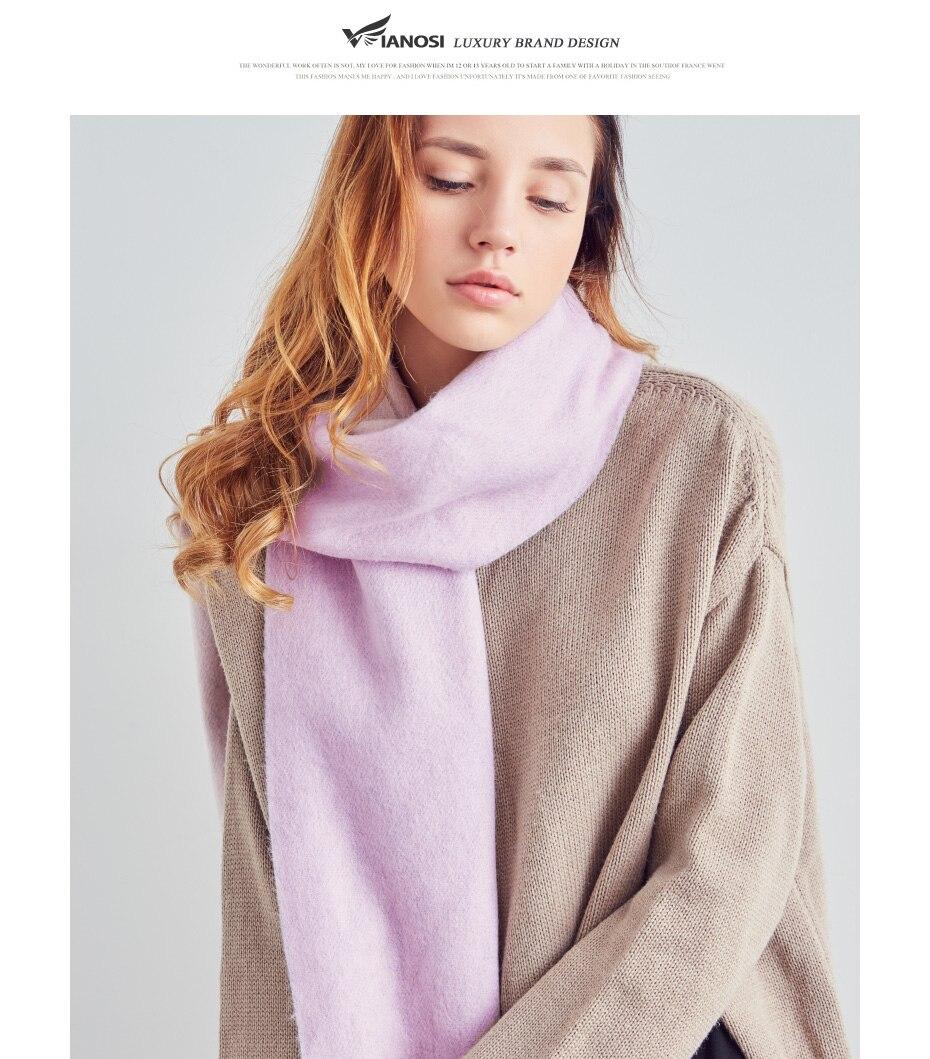 HTB1aR9lJKGSBuNjSspbq6AiipXaE - [VIANOSI] 100% Wool Scarf Women Winter Scarves Brand Foulard Femme High Quality Solid Tassel Bufandas Invierno Mujer 2018