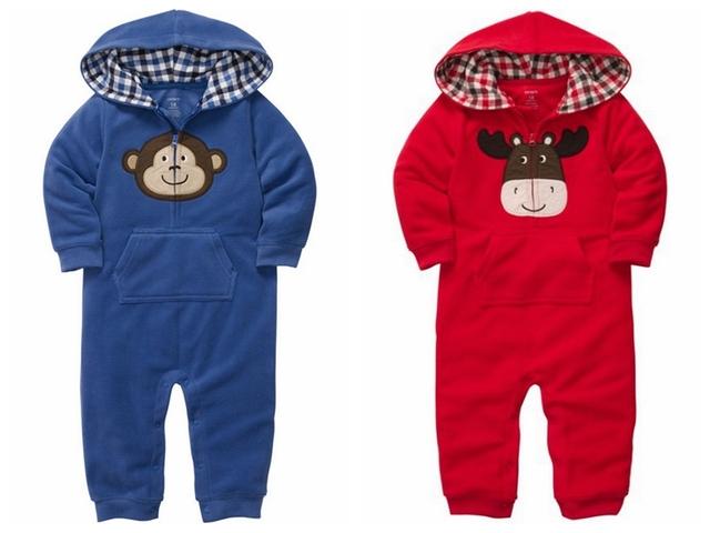 Marca, bebé roupas, romper Do Bebê, novo 2015, inverno, roupas quentes, recém nascido, bebê no geral, bebê desgaste menino