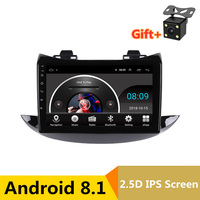 9 2.5D IPS Android 8.1 Car DVD Multimedia Player GPS for Chevrolet TRAX 2016 2017 2018 audio car radio stereo navigation WiFi