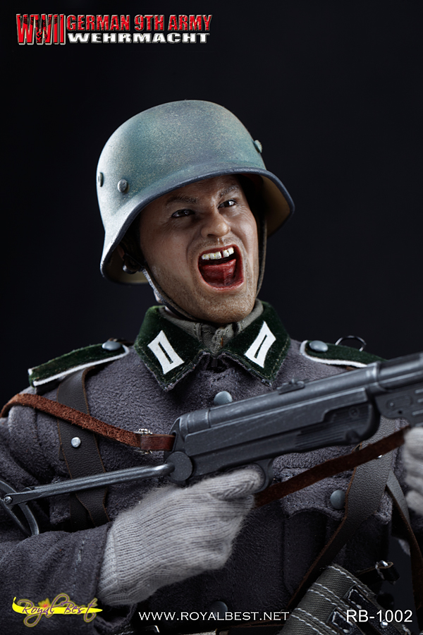 1//6 Scale Binoculars Johann Alber Wehrmacht Royal Best Action Figures