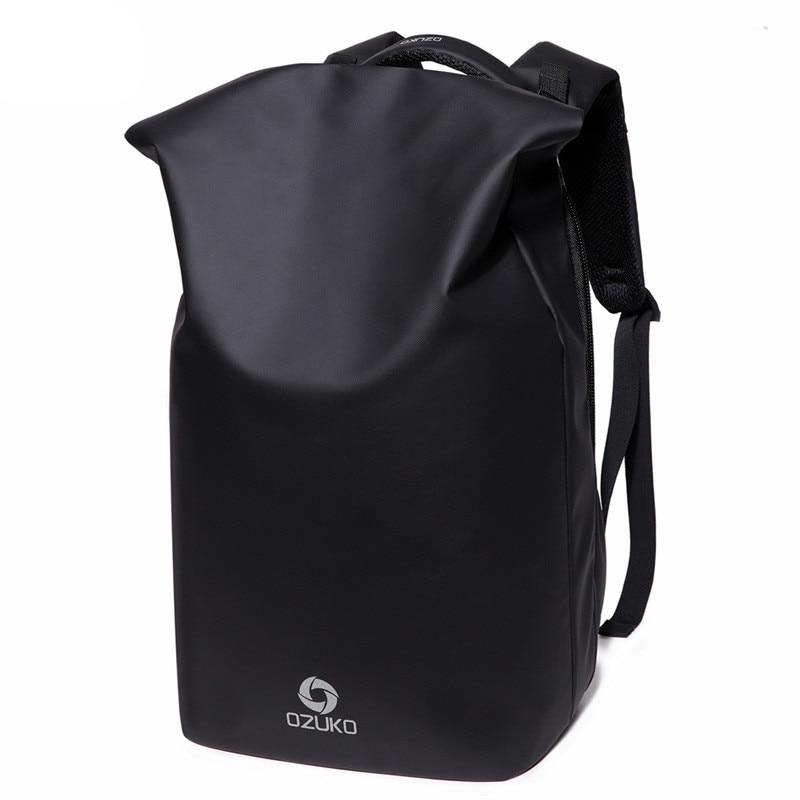 OZUKO Waterproof Fashion Backpack Men Anti Theft Casual Travel Bag Multifunctional 15.6 Laptop Backpack New Design Mochila