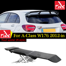W176 Rear Spoiler For A-Class A180 A200 A250 A300 A45 AMG AER Style Car Carbon Fiber Revozport Tail Wing 2012+