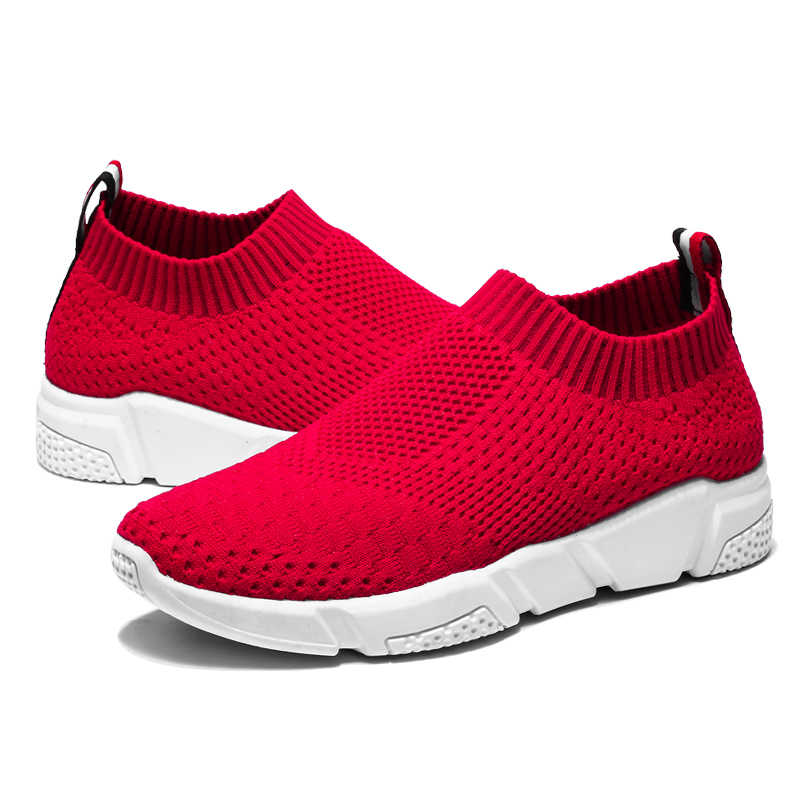 3d22d5171aba7 Breathable Slip-On Women s Running Shoes Lightweight Sports Shoes Spring Summer  Female Sneakers deportivas mujer