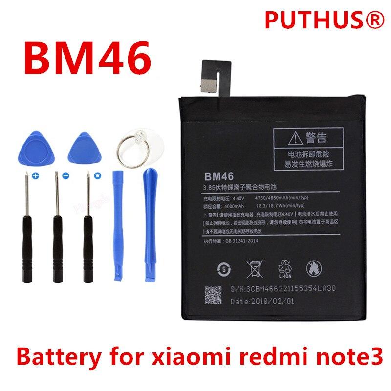BM46 Battery Note3 Xiao Mi Redmi Real-4000mah Original For Note-3/Redmi/Note3/Pro