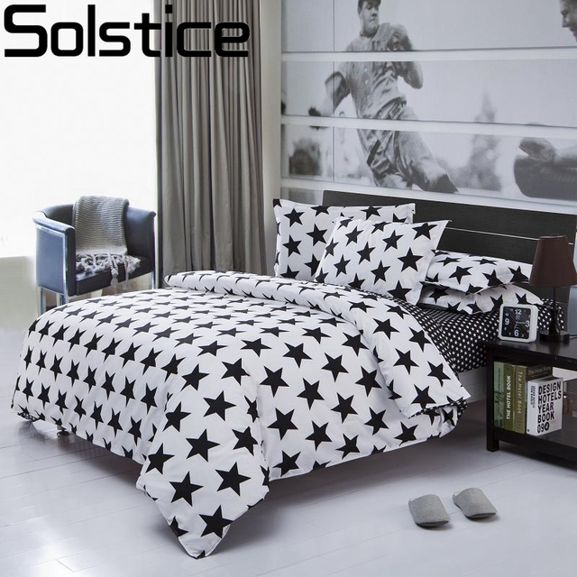 Solstice Home Textile Classic Black And White Fashion Striped