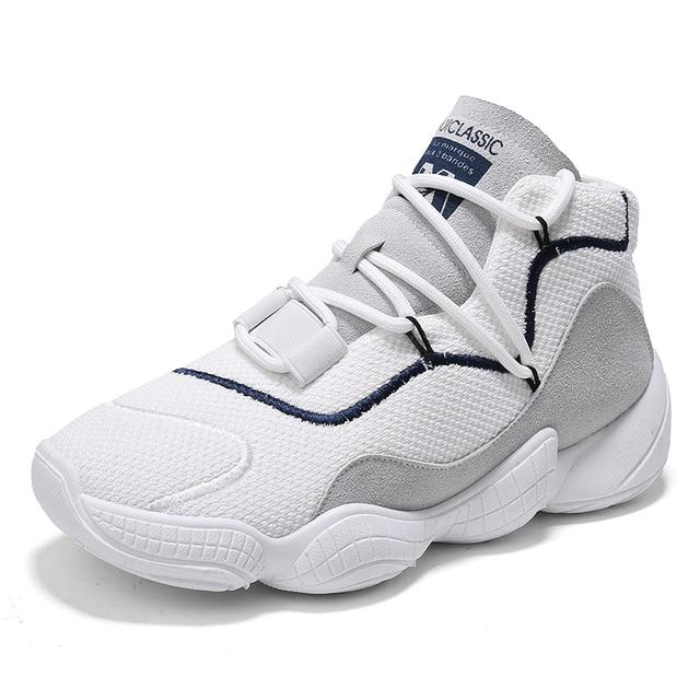 2018 Новая стильная обувь женские дышащие спортивные туфли на толстой подошве Увеличение Женская обувь нескользящие износостойкость мягкие дышащие