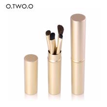 O. TWO. O, 5 шт./компл. кисти для макияжа кисть для теней для век кисть для бровей Румяна для растушевки Косметика Щетки Красота, инструменты для макияжа, 9953