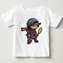 Playerunknowns Battlegrounds Cotton Tshirt Winner Chicken Dinner h1z1 Game T-shirt Fashion boy shirt Children Wear