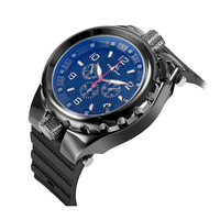 V6 Super Speed Brand Mens Watches Silicone Band Fashion Casual Military Sports Watches Men Montre Homme