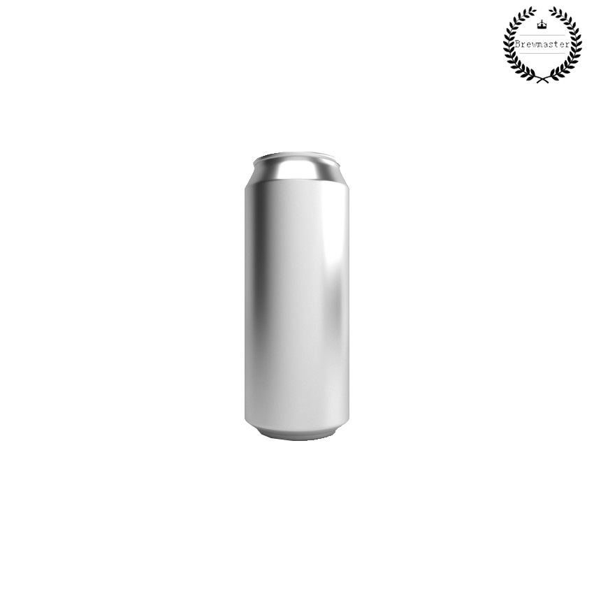 ALUMINIUM DISPOSABLE BEVERAGE BEER CANS SILVER SKIN WITH LIDS 207 UNITS X 500ML