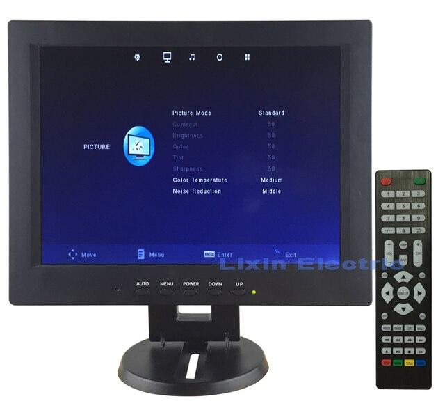 12 inch 1024*768 дисплей с высоким разрешением full hd профессиональный малых vga dvi HDMI компьютер ЖК-ТЕЛЕВИЗОР Использовать в качестве Монитора