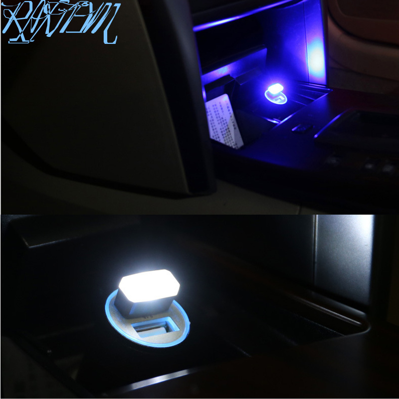 Car Styling <font><b>USB</b></font> Atmosphere LED Lamp Light For Chery Fulwin QQ Tiggo 3 <font><b>5</b></font> T11 A1 A3 A5 Amulet M11 Eastar Elara image