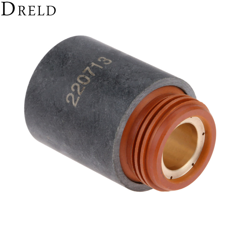DRELD 1pc Cutting Torch Retaining Cap 220713 for 45 Plasma Cutting Torch Consumables Replacement 45A Welding Soldering SuppliesDRELD 1pc Cutting Torch Retaining Cap 220713 for 45 Plasma Cutting Torch Consumables Replacement 45A Welding Soldering Supplies