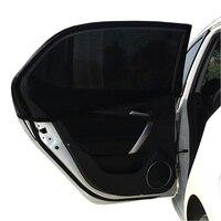 2PCS Car Side Window Sun Shade Mesh Solar Protection Covers Automobile Visor Shield Sunshade UV Protection