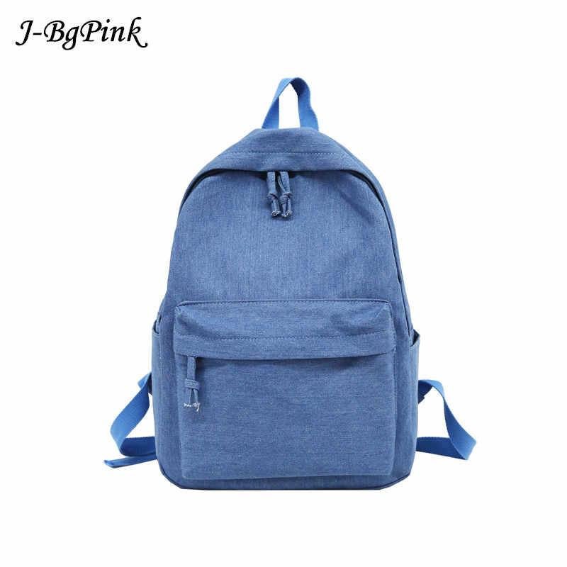 2019 Новый женский рюкзак из денима, мягкая на открытом воздухе, Модная легкая школьная сумка, индивидуальный рюкзак, джинсовые износостойкие студенческие рюкзаки