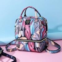 Large capacity maternity diaper bag baby care diaper bag backpack baby travel backpack handbag fashion