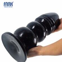 FAAK consolador anal grande de 33x12cm, tamaño enorme, Juguetes sexuales femeninos y masculinos, producto de masturbación para hombres y mujeres, gay