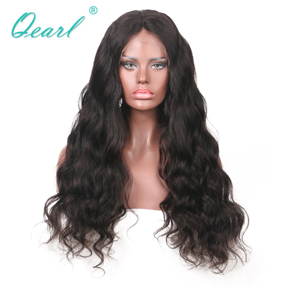 150% Density Full Lace Wig 8-24 Inch Remy Hair Pre-Plucked Brazilian Human Hair Wigs With Baby Hair