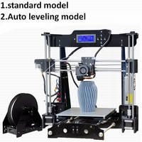 2018 Upgraded Reprap 3D Printer DIY Kit Quality High Precision Auto Leveling 220 220 230mm