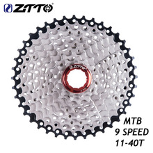 ZTTO MTB Mountain Bike Cassette Sprocket 9speed 11-40T Wide Ratio Freewheel Compatible With Sunrace mtb 9 speed 11 40t cassette wide ratio freewheel mountain bike 9s cassette flywheel sprocket compatible for shimano sram sunrace