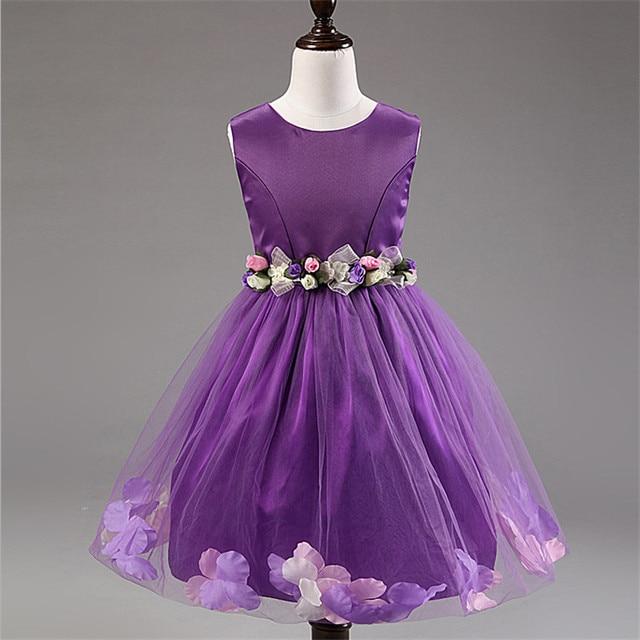 17ecc0590 2 8 Age Flowers Girl Summer Dress