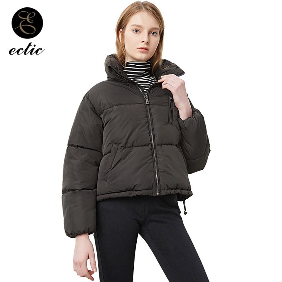 Parka   Women Oversize Down Jacket Abrigos Mujer Invierno 2018 Winter Coat Puffer Jacket Turtleneck Warm Bomber Jacket Long Sleeve