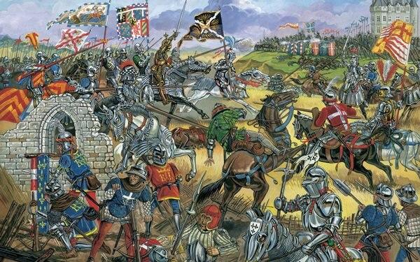 Peinture Art Batailles Moyen Age Armure Fantasy Battle Chevalier Guerrier Warriors Home Decoration Toile Affiche Aliexpress