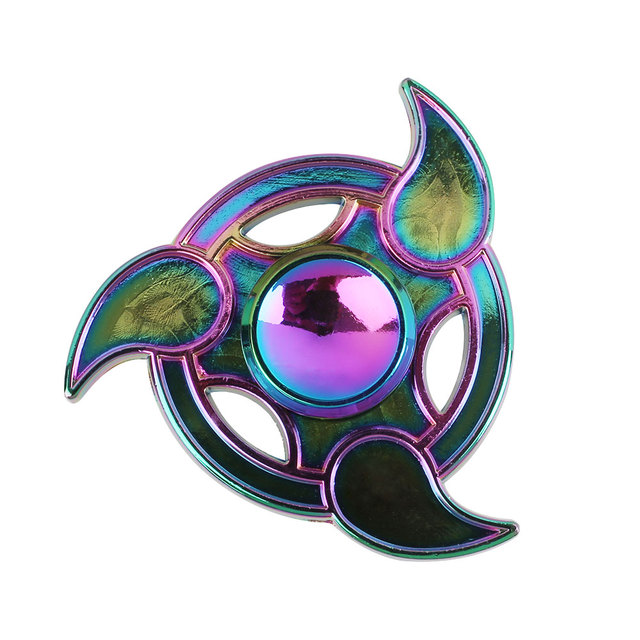 Naruto Tri Blades Colorful Hand Spinner