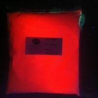 Red Noctilucent powder superbright luminous glow powder DIY materials 100 gram per lot glowing in dark