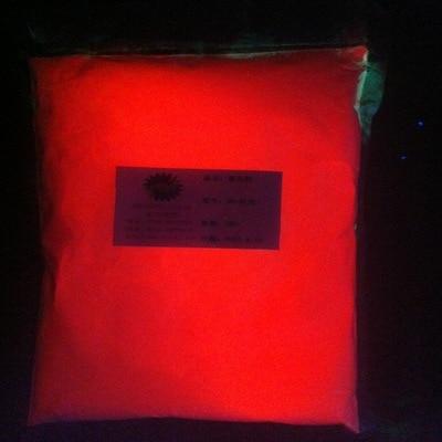 Red Noctilucent powder superbright luminous glow powder DIY materials 100 gram per lot glowing in dark jackall dartrun shobokure red glow page 8