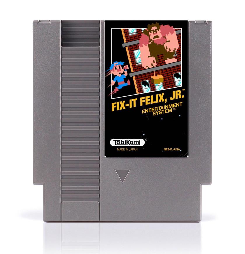 Fix-it Felix Jr 8 Bit Game Card for 72 Pins Game Console