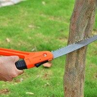 High Quality Garden Tools Manganese Steel Folding Saw Garden Fruit Tree Sharp Logging Steel Sawing Bonsai