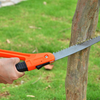 High Quality Garden Tools Manganese Steel Folding Saw Garden Fruit Tree Sharp Logging Steel Sawing Bonsai