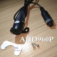 Мини-камера для мониторинга автомобиля AHD 960 P один миллион триста тысяч пикселей маленький водонепроницаемый зонд Прямая продажа с фабрики.