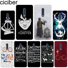 ciciber For Nokia 8 7 7.1 6 6.1 5 5.1 3 3.1 2 2.1 1 Plus Soft silicone phone Harry Potter Glasses case TPU For Nokia X7 X6 X5 X3