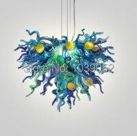 Gratis Verzending Mini Nieuwe Collectie Murano Glas Verlichting Armatuur Hanger-in Kroonluchters van Licht & verlichting op