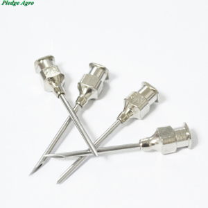 Image 3 - 10pcs stainless steel needles for animals injection syringe vaccination vet farm tools poultry livestock veterinary use farming