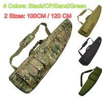 100CM 120CM Multicam Heavy Duty Tactical Gun Slip Bevel Carry Bag Rifle Case Shoulder Backup Pouch