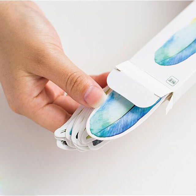30 unids/caja plumas bonitas regalo marcadores marcador papelería regalo realista Kawaii dibujos animados marcapáginas para oficina la fuente de la escuela