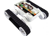 Rc Smart Track Chassis Robot Tank Kit 2wd Motor Tanks with Contest Platform for Arduino DIY Chassis Kit #RBP018