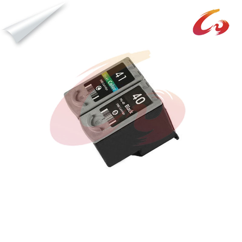 2 PG-40 CL-41 Compatible Ink Cartridge For canon pixma mp160 ink cartridge printer MP180 MP190 MP210 MP220 MP450 MP470 printer 3x remanufactured ink cartridge pg40 cl41 pg 40 cl 41 for canon pixma ip1700 ip1800 ip1900 mp470 mp450 inkjet printer