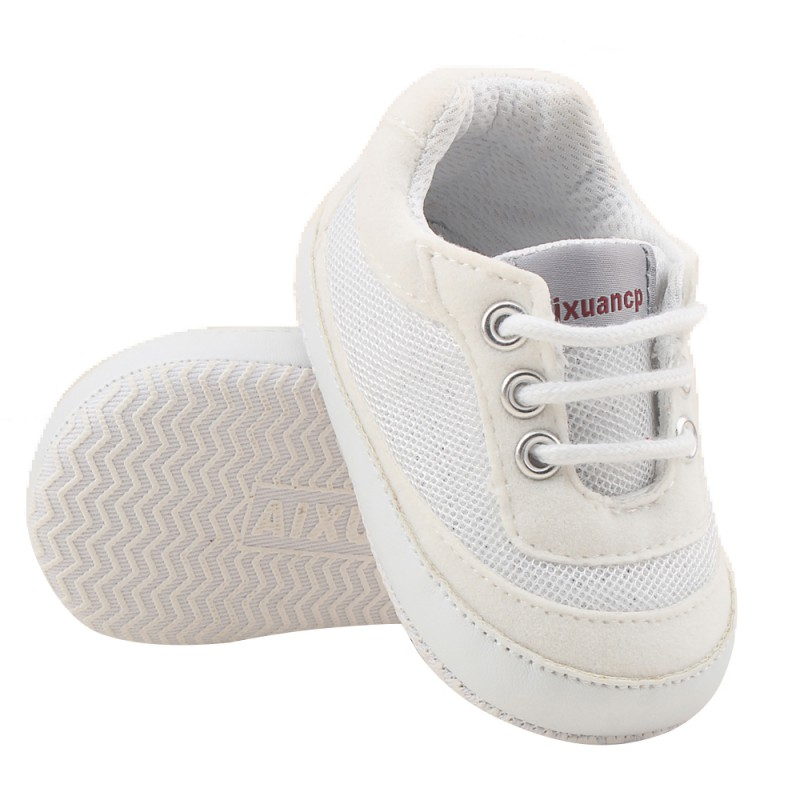 Spring Summer Autumn New Baby Boys Girls Cotton Shoes Casual Solid Color Breathable Comfortable Soft Sole High Quality Sneakers
