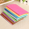 40pcs 20x10cm Non-woven Felt Fabric 1mm Polyester Cloth Felts DIY Bundle For Apparel Sewing Dolls Crafts Multi-color 2