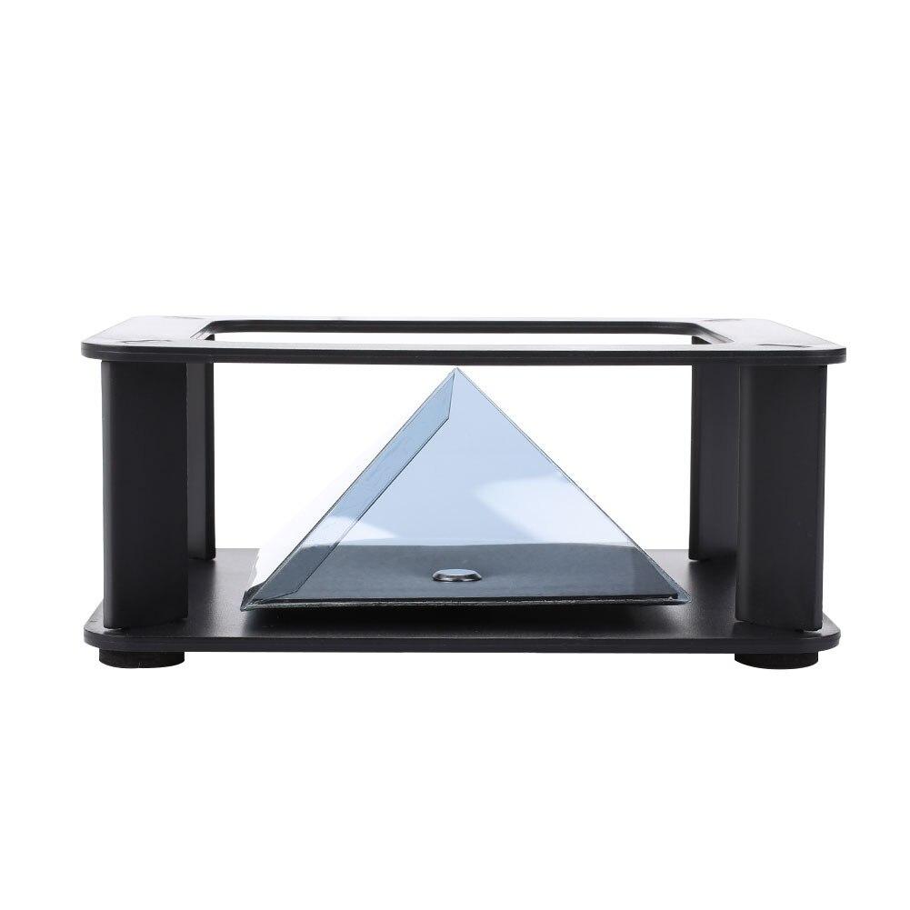 Смешная 3D Голограмма камера проекция образование 3D пирамида для волшебных игрушки, Прямая поставка