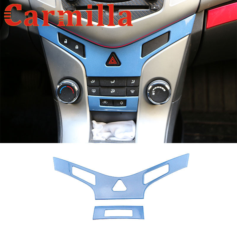 Carmilla Center consolepaneel Air conditioning vent pailletten - Auto-interieur accessoires - Foto 5