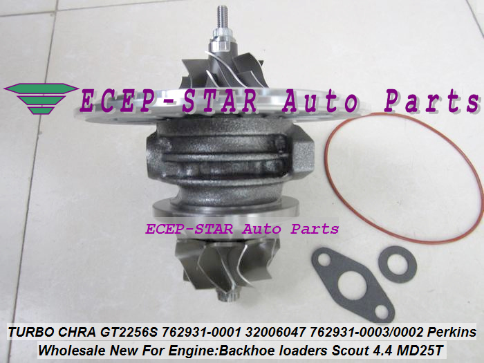 Turbo Cartridge CHRA GT2556S 762931 762931-5001S 762931-0001 Turbocharger For Perkin Backhoe loaders JBC Agricultural Scout 4.4L (3)
